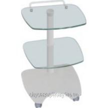 Блок инструментального столика Дарта 1405 (стеклянный, круглый)