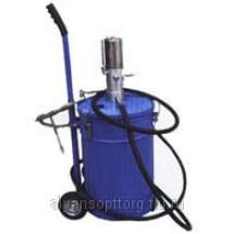 Установка раздачи смазки TP703 с пневмонасосом и баком 25 л