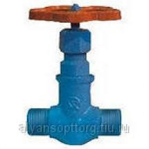 Вентиль (клапан) 15с10п стальной запорный сальниковый цапковый