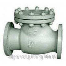 Клапан 19с53нж обратный поворотный стальной фланцевый