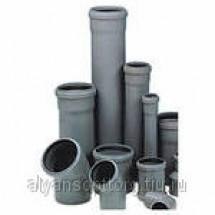 Трубы полипропиленовые для внутренней канализации и фасонные части к ним