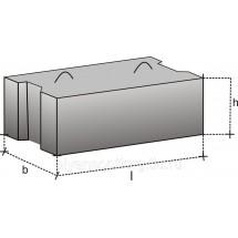 Блоки бетонные для стен ФБС 12.8.6Т